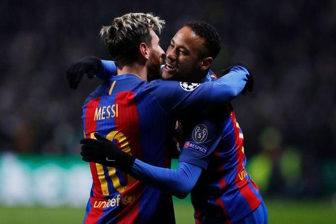 Neymar san bằng kỷ lục kiến tạo ở Champions League sau 5 trận