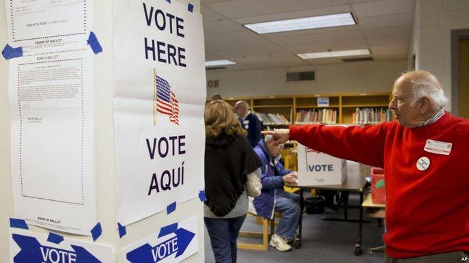 Mỹ lo ngại hệ thống bầu cử nước này sẽ bị tin tặc tấn công Ảnh: AP