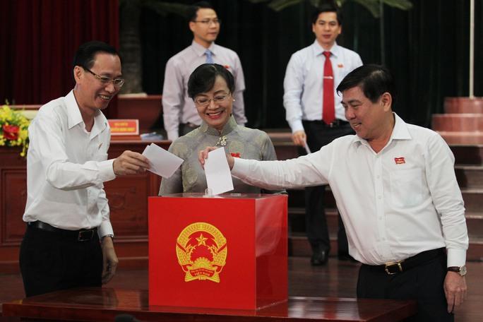 HĐND TP HCM tiến hành bầu bổ sung chức danh Ủy viên UBND TP nhiệm kỳ 2016 -2021