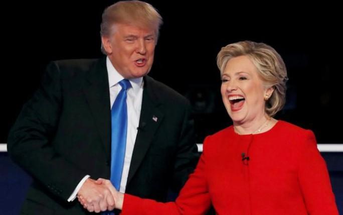 Hai ứng viên tổng thống hàng đầu Donald Trump và Hillary Clinton. Ảnh: Reuters