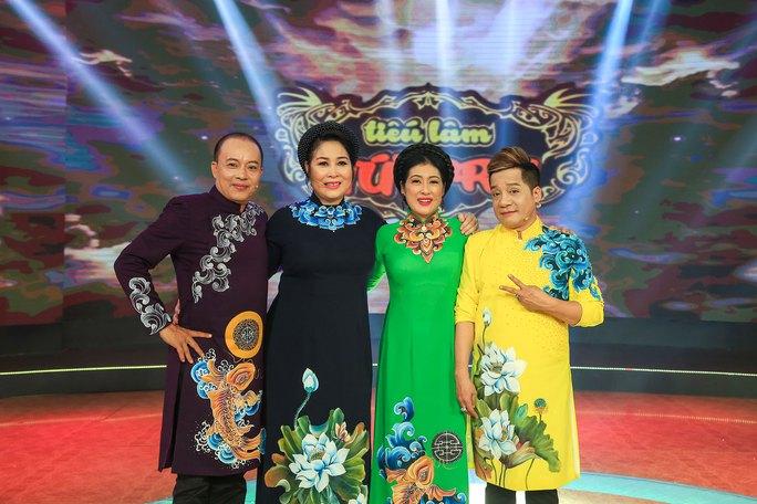 Bốn nghệ sĩ giám khảo của  Tiếu lâm tứ trụ