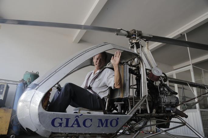 Ông Bùi Hiển và phiên bản trực thăng mang tên Giấc Mơ