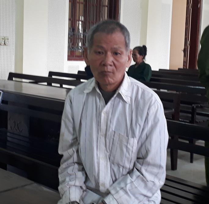 Bị cáo Nguyễn Văn Đào tại phiên tòa