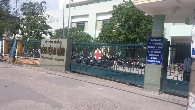 Nạn nhân H. hiện đang được điều trại tại Bệnh viện Đà Nẵng