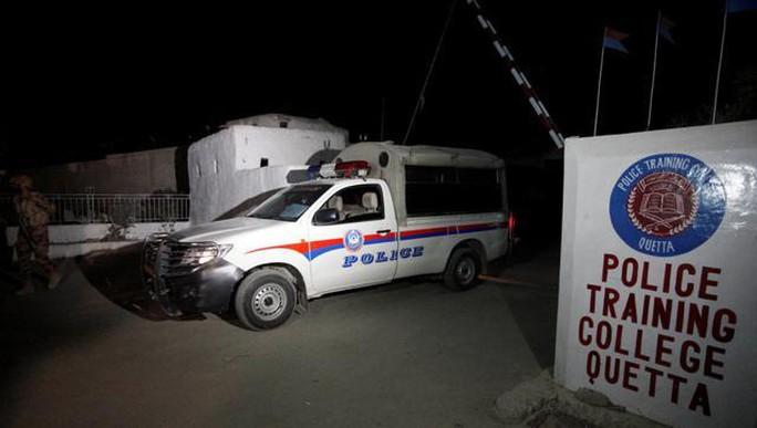 Trường Cao đẳng Cảnh sát Balochistan. Ảnh: Reuters