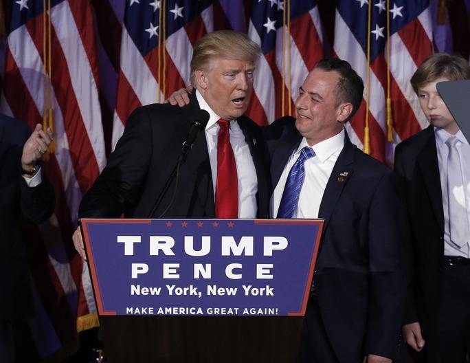 Việc ông Donald Trump (trái) thắng cử khiến quan hệ Mỹ - Trung trở nên khó đoán Ảnh: Reuters
