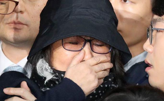 Bà Choi Soon-sil, tâm điểm của vụ bê bối xoay quanh Tổng thống Park Geun-hye. Ảnh: NDTV