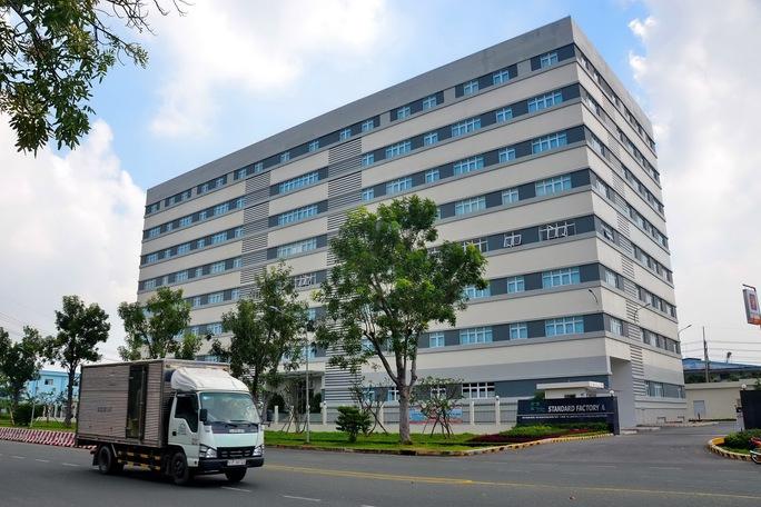 Khu nhà xưởng cho thuê tại KCX Tân Thuận Ảnh: Tấn Thạnh