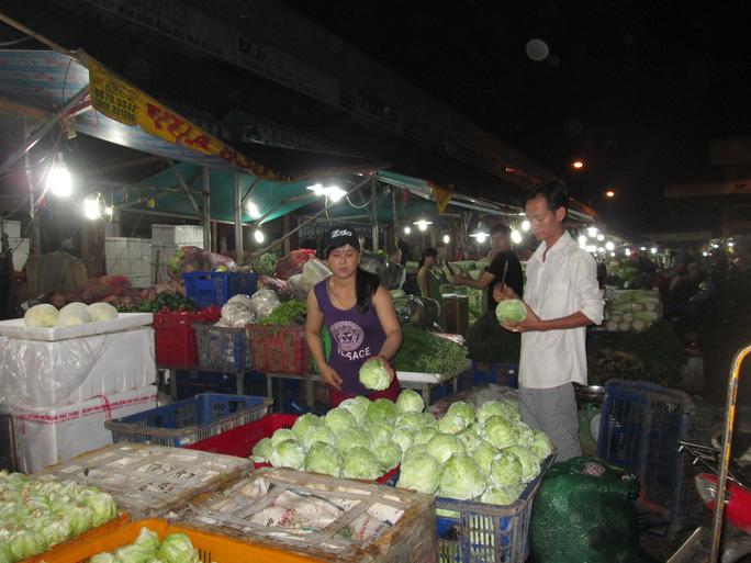 Các loại rau củ được cho là mặt hàng nóng nhất trong dịp Tết nguyên đán sắp tới Ảnh: Ngọc Ánh