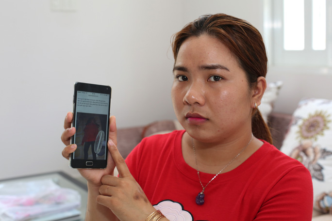 """Chị Võ Thị Tú Mi (22 tuổi, quê Trà Vinh, ngụ TP HCM) bức xúc kể lại vụ mình vô cớ bị """"giết"""" trên mạng"""