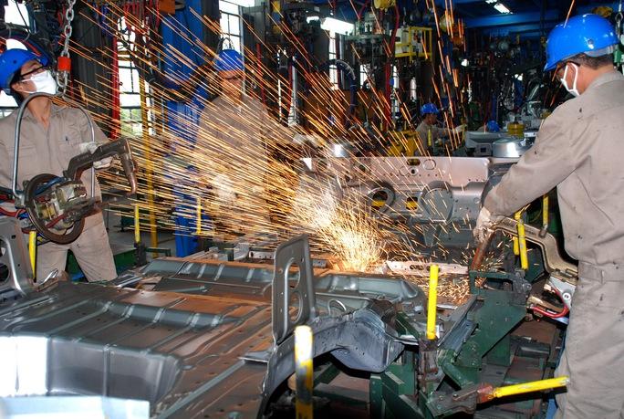 Ngành công nghiệp ô tô cần được hỗ trợ phát triển Ảnh: Tấn Thạnh