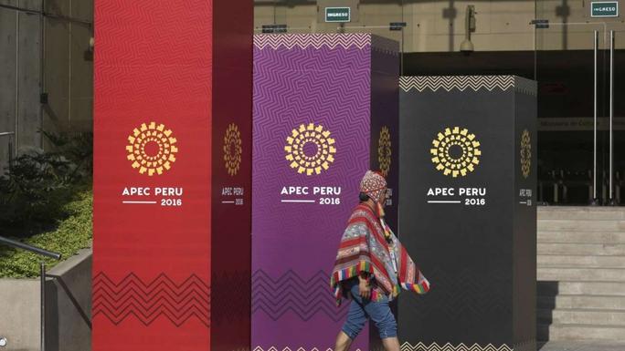 Việc ông Donald Trump thắng cử sẽ được bàn nhiều tại Hội nghị Thượng đỉnh APEC ở thủ đô Lima - Peru Ảnh: AP