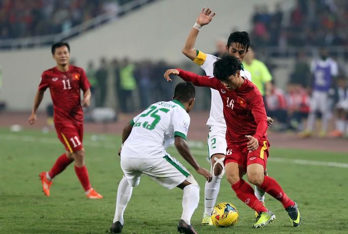 Công Phượng (16) sẽ là trụ cột trong thành phần U22 Việt Nam dự vòng loại U23 châu ÁẢnh: Quang Liêm