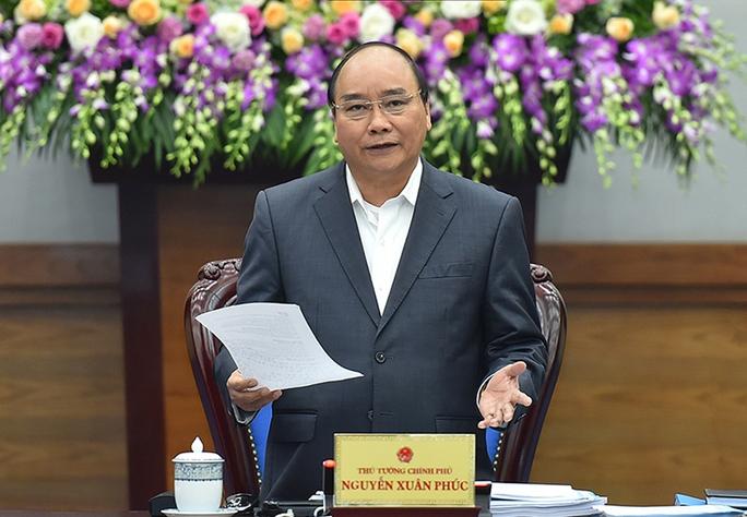 Thủ tướng Nguyễn Xuân Phúc chỉ đạo tại hội nghịẢnh: Quang Hiếu