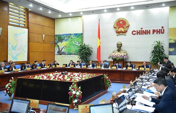 Phiên họp Chính phủ thường kỳ tháng 11 vào ngày 29-11Ảnh: QUANG HIẾU