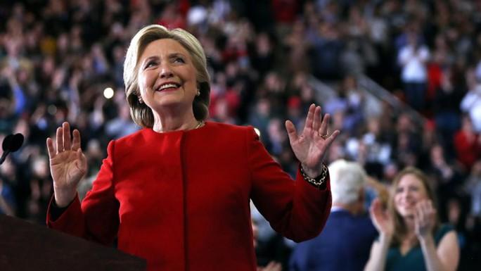 Bà Hillary Clinton. Ảnh: The Hill