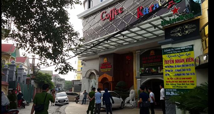 Nơi xảy ra vụ hỗn chiến trước quán karaoke Quán Lau