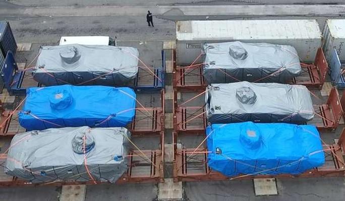 Số xe bọc thép do hải quan Hồng Kông thu giữ ngày 23-11. Ảnh: SCMP