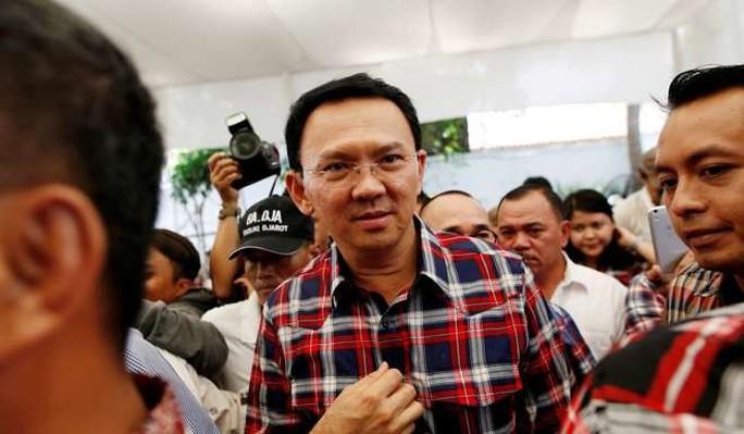 Thống đốc Jakarta Basuki Ahok Tjahaja Purnama. Ảnh: Reuters
