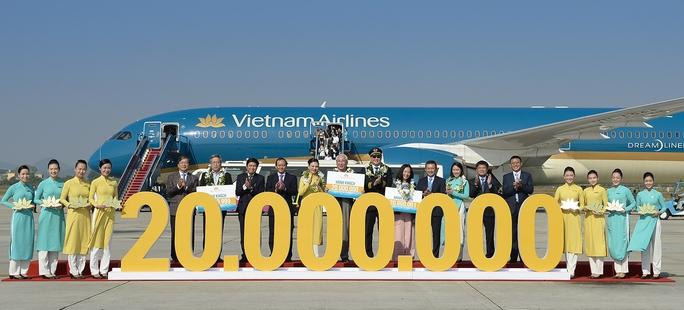 Chào đón hành khách thứ 20 triệu