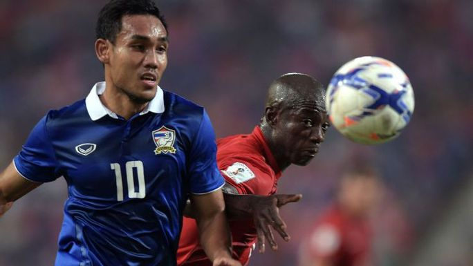Dangda, cầu thủ chơi hay nhất trên hàng công Thái Lan