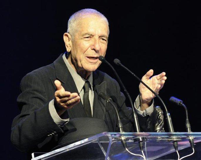 Huyền thoại Leonard Cohen qua đời