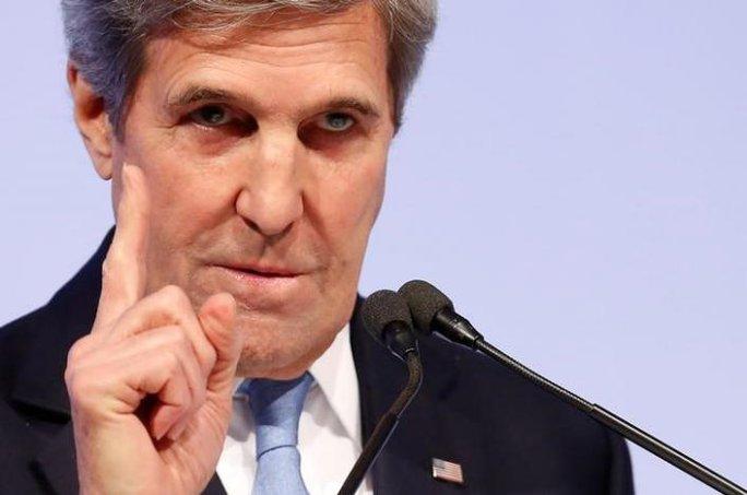 Ngoại trưởng Mỹ John Kerry. Ảnh: REUTERS