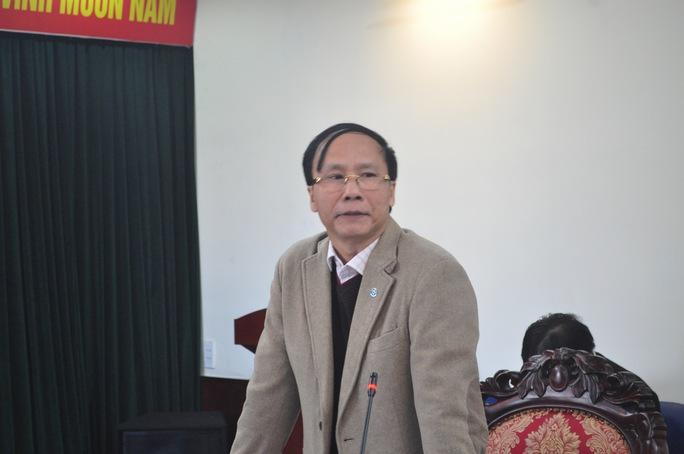 Ông Nguyễn Hoài Nam phát biểu tại buổi họp báo