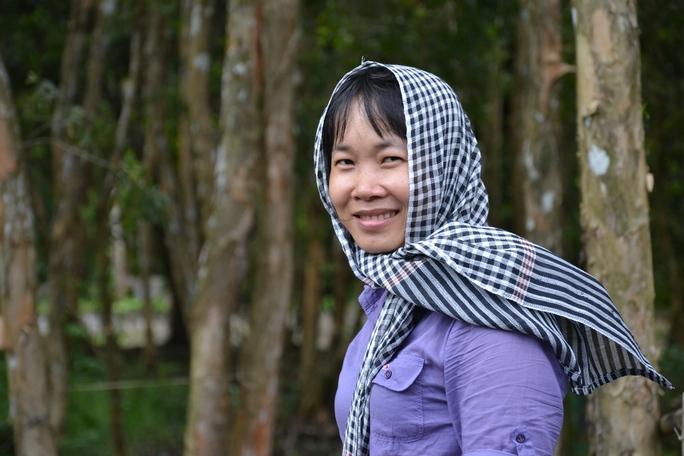 Nhà văn Nguyễn Ngọc Tư - ảnh: Võ Mạnh Hảo