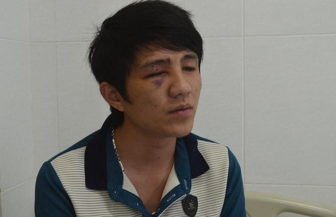Anh Nguyên lúc đang điều trị tại Bệnh viện Đa khoa Thiện Hạnh