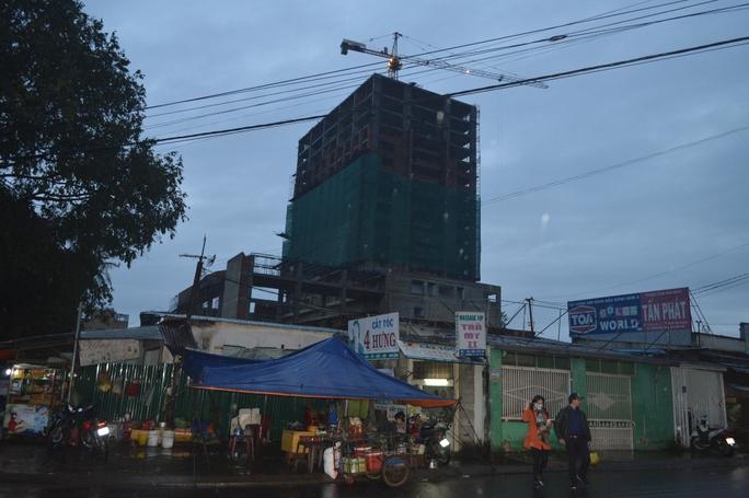 Mặc dù chưa được cấp phép xây dựng nhưng khách sạn Mường Thanh Buôn Ma Thuột đã xây dựng được nhiều hạng mục