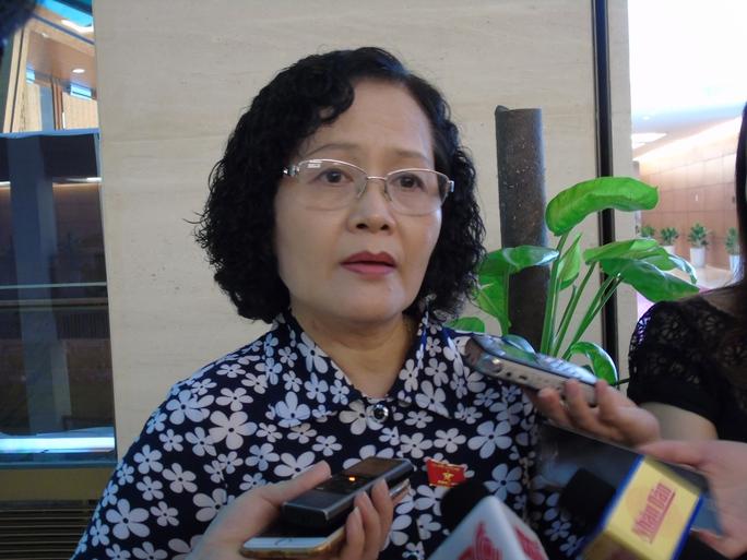 ĐBQH Trần Thị Quốc Khánh cho rằng việc công bố thông tin nước mắm nhiễm asen của VINASTAS là hành động đáng xấu hổ - Ảnh: Văn Duẩn