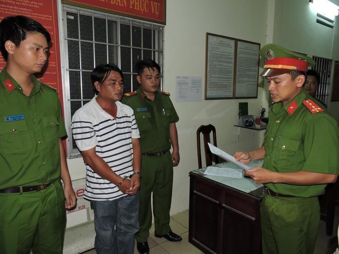 Nguyễn Tiến Dũng lúc bị bắt