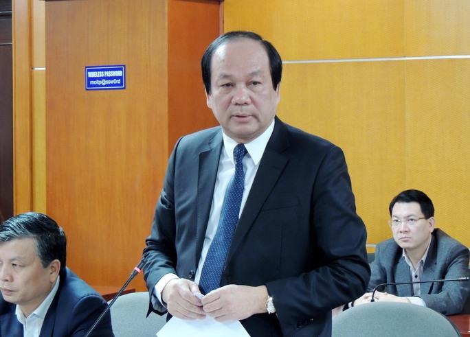 Bộ trưởng Mai Tiến Dũng nêu 8 nhóm vấn đề của Bộ Công Thương cần làm rõ