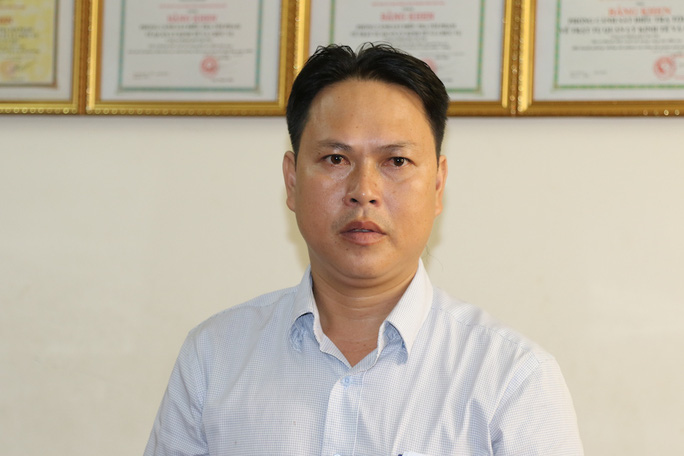 Nguyên Phó chánh Thanh tra giao thông TP Cần Thơ Dương Minh Tâm