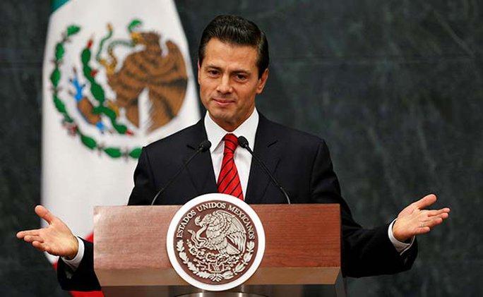 Tổng thống Mexico Enrique Pena Nieto. Ảnh: NDTV