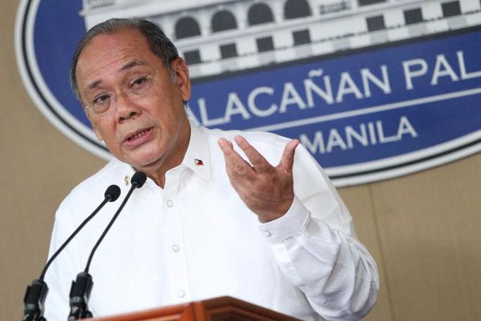 Phát ngôn viên Tổng thống Duterte, ông Ernesto Abella. Ảnh: Inquier