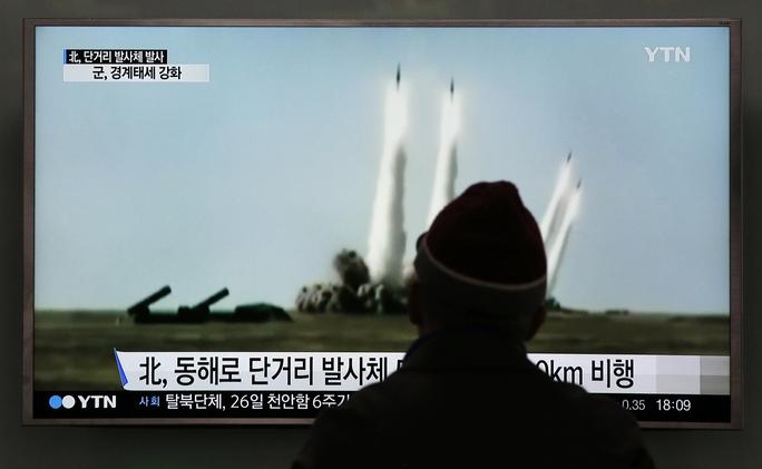 Những vụ thử hạt nhân của Triều Tiên là nguyên nhân dẫn đến cấm vận. Ảnh: AP