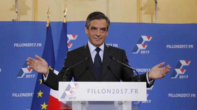 Ông François Fillon Ảnh: REUTERS
