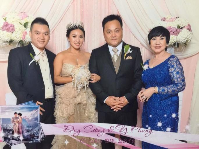 NS Kiều Tiên và con trai sang Mỹ dự lễ cưới của ca sĩ Y Phụng (ảnh do gia đình cung cấp)