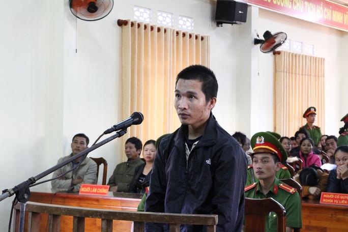 Bị cáo Kiều Quốc Huy tại tòa