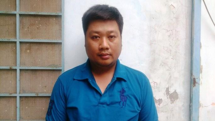 """Ông Bùi Đức Phương bị bắt giam sau khi mạng xã hội """"tố giác"""" có hành vi nổ súng đe dọa một phụ nữẢnh: Lê Phong"""