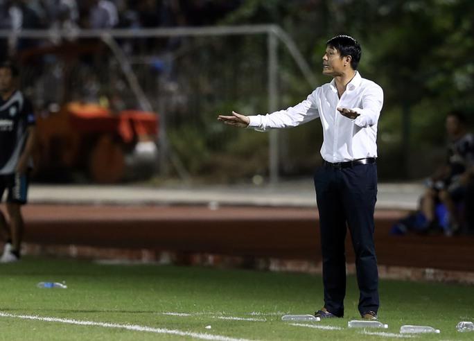 HLV Hữu Thắng tin vào sự lựa chọn về nhân sự cho đội tuyển của ông Ảnh: Quang Liêm