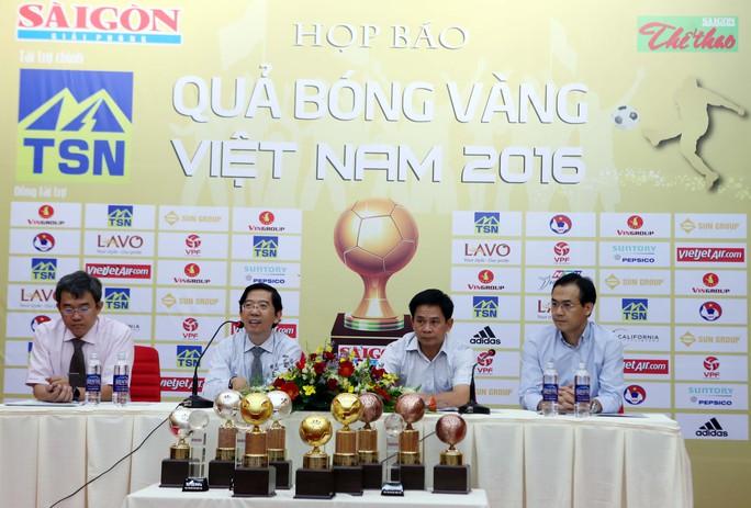 Giải thưởng Quả bóng Vàng Việt Nam 2016 công bố danh sách 5 ứng viên
