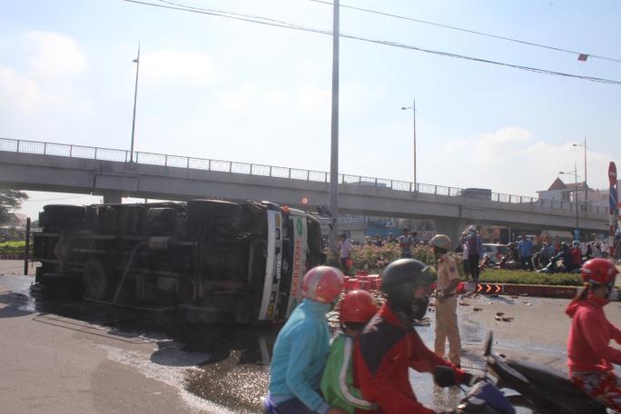 Tai nạn xảy ra khu vực giao lộ đông người qua lại