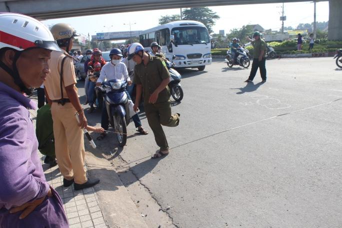 Lực lượng chức năng đã có mặt để giải quyết vụ việc
