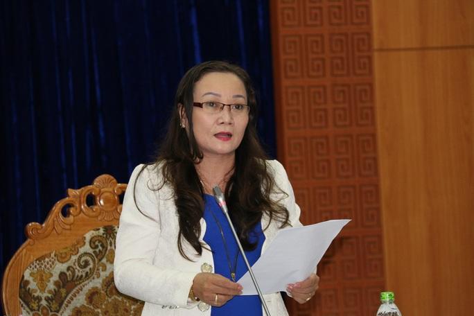 Bà Lê Thị Tuyết Hạnh, Phó giám đốc Sở Tài nguyên và môi trường tỉnh Quảng Nam