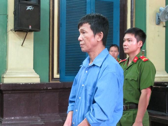 Bị cáo Nguyễn Văn Nam tại phiên tòa