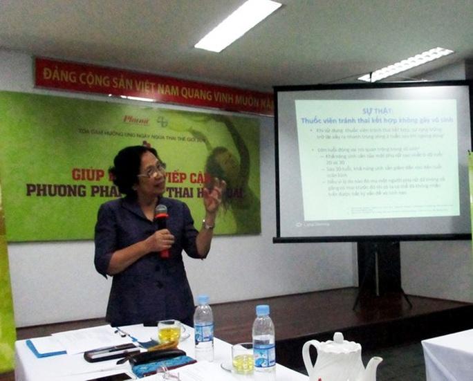 Theo GS-BS Nguyễn Thị Ngọc Phượng, Việt Nam là 1 trong 3 quốc gia có tỉ lệ phá thai cao nhất thế giới