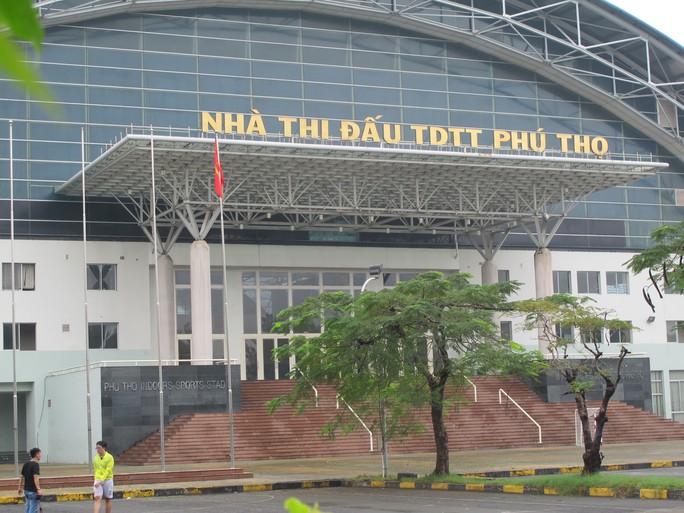 Nhà thi đấu TDTT Phú Thọ, nơi xảy ra vụ trộm kim cương